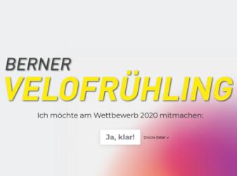 Wettbewerb des Berner Velofrühling 2020