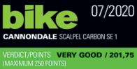 Cannondale Scalpel Bike 072020 EN